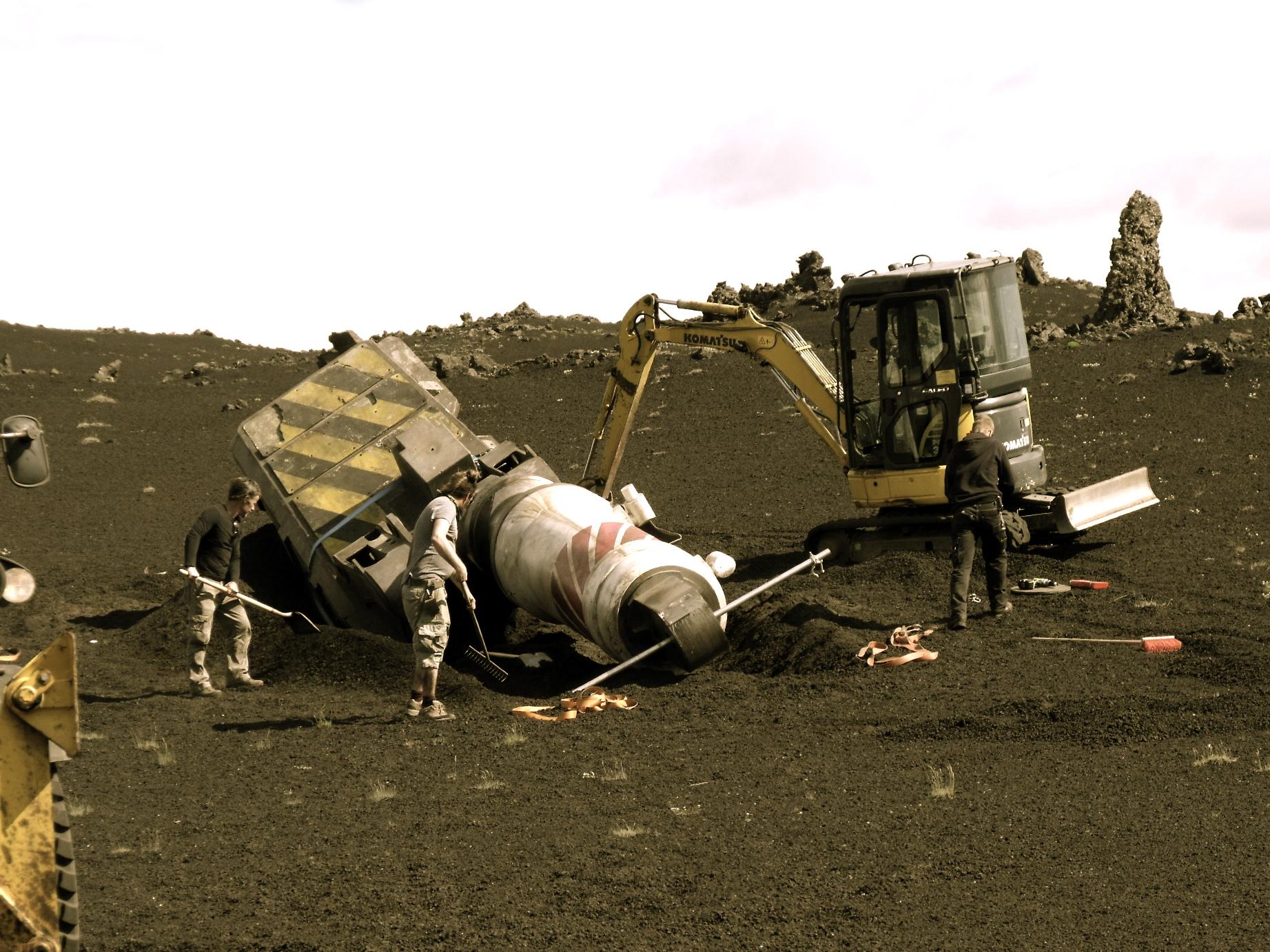 Digging in Crash leg