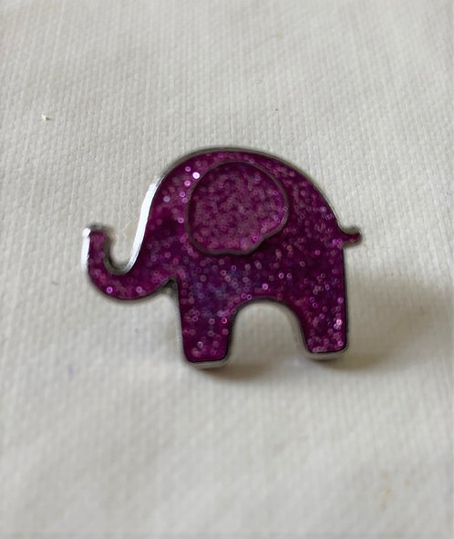 Isabella Elephant Lapel Pin