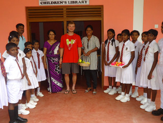 Isabella's brother visits Sri Lanka for the first time