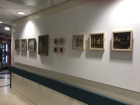 Crow Wood CIC exhibits in Royal Derby Hospital!