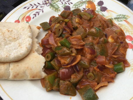 Recipe: Runner bean curry