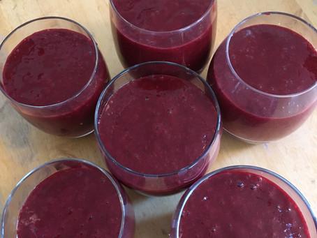 Recipe: Blackberry smoothie (vegan)