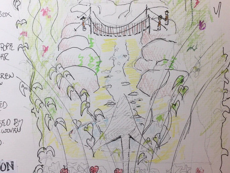 Fingers crossed for our Chatsworth show garden entry!