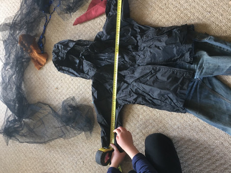 Activity of the Day: Make a simple scarecrow