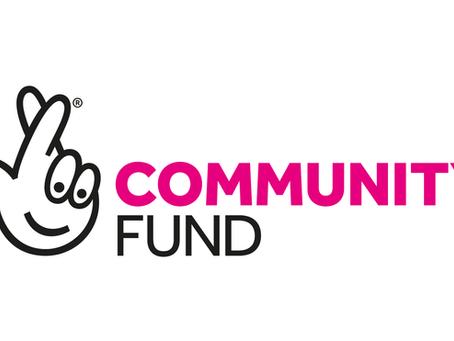 National Lottery Community Funding bid success!