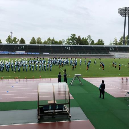 中国大学サッカーリーグハーフタイムショーに出演しました!