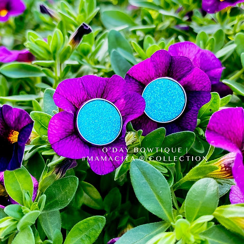 Leather Earrings: March into your destiny: By O'Day Bowtique