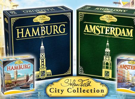 Stefan Feld City Collection - Hamburg & Amsterdam
