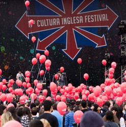 Festa de abertura do Festival Cultura Inglesa