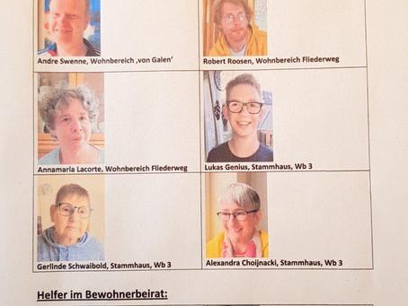 Bald wird gewählt - im St.Johannes-Stift Kranenburg!