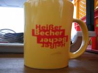 'Heisser Becher' , gut an kühlen Tagen.