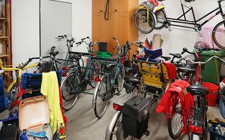 Oh Mann, die Garage ist voll!