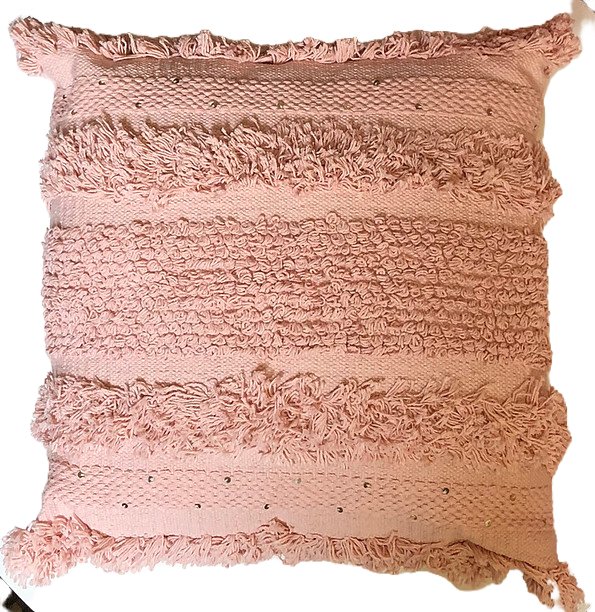 Pink wedding pillow