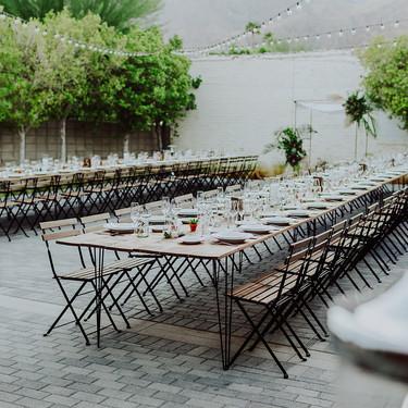 Desert Farm Table with Cafecito Chair