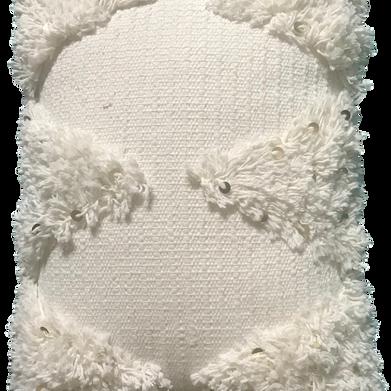 White Moro wedding pillow