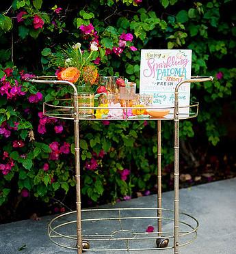 Relic Bar Cart
