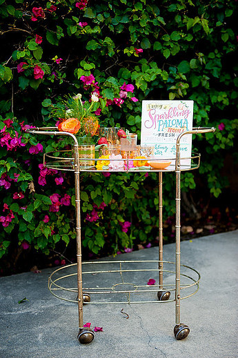 Relic Bar Cart
