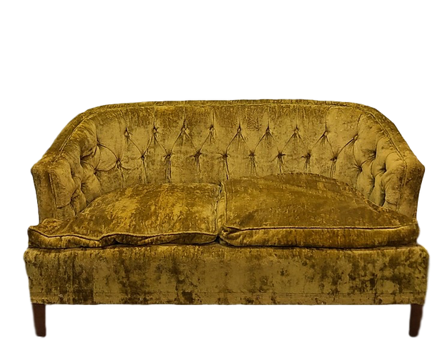GOLDEN LOVESEAT
