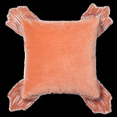 Ginger XL velvet pillow