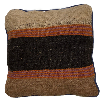 Birch earthones pillow