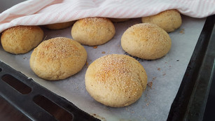 Glutenfria brödbullar