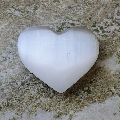 Selenit, vit AA - hjärta