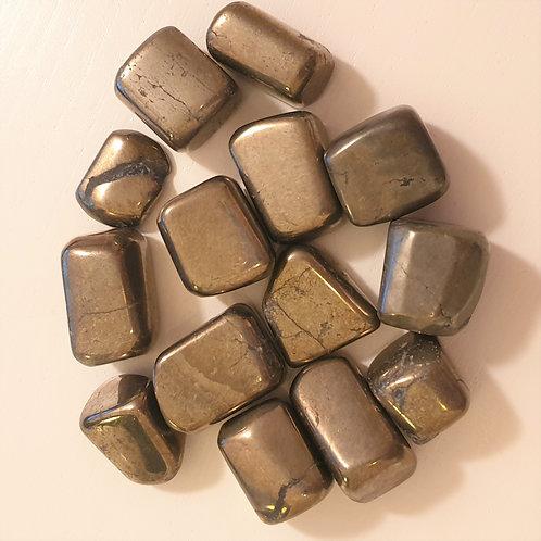 Pyrit, AA - trumlad sten
