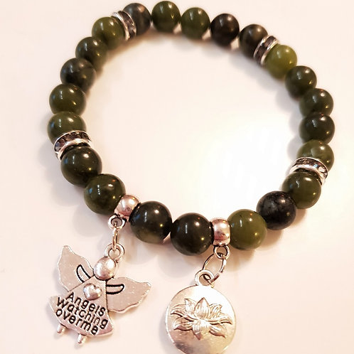 Armband - OLIV JADE & Angels watching over me