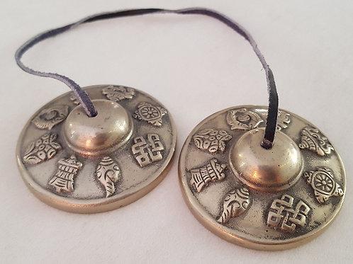 Tibetanska meditationsklockor / cymbaler