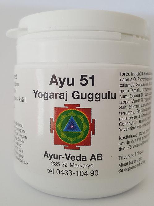Ayu 51 Yogaraj Guggulu (1 mån)