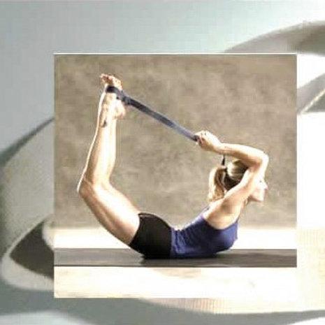 Yoga stretchbälte