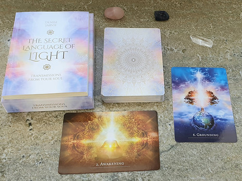 The Secret Language Of Light - oracle cards