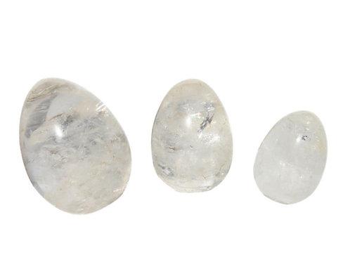 Yoniägg - Bergskristall - small