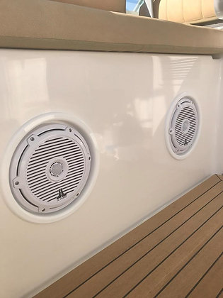 "7.0"" Marine Flush Mount Speaker Rings"