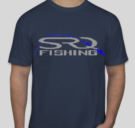 SRQ Fishing T-Shirt USA Made 50/50 American Apparel