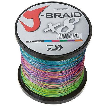 Daiwa J Braid Braided Line - 3000 Meter Spool