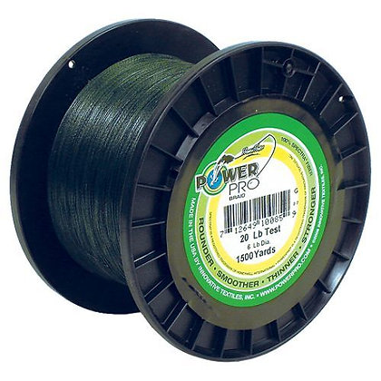 Power Pro Braid 1500 Yard Spool 20LB & 30LB
