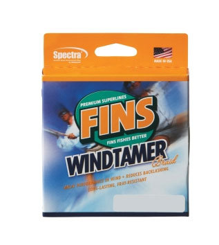 Fins Windtamer Braid 500 Yard Spool