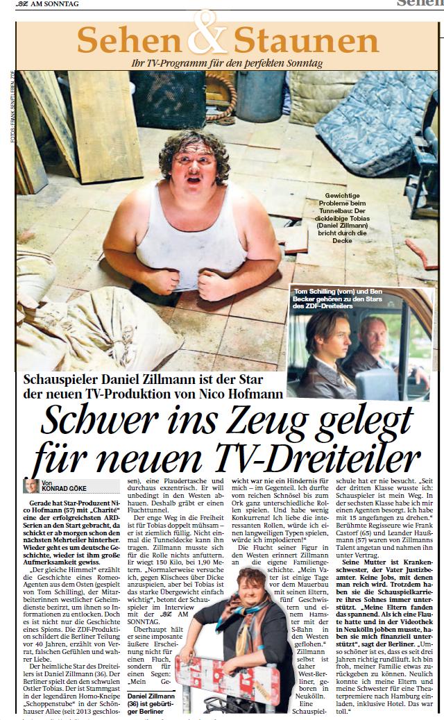 Daniel Zillmann @ B.Z.