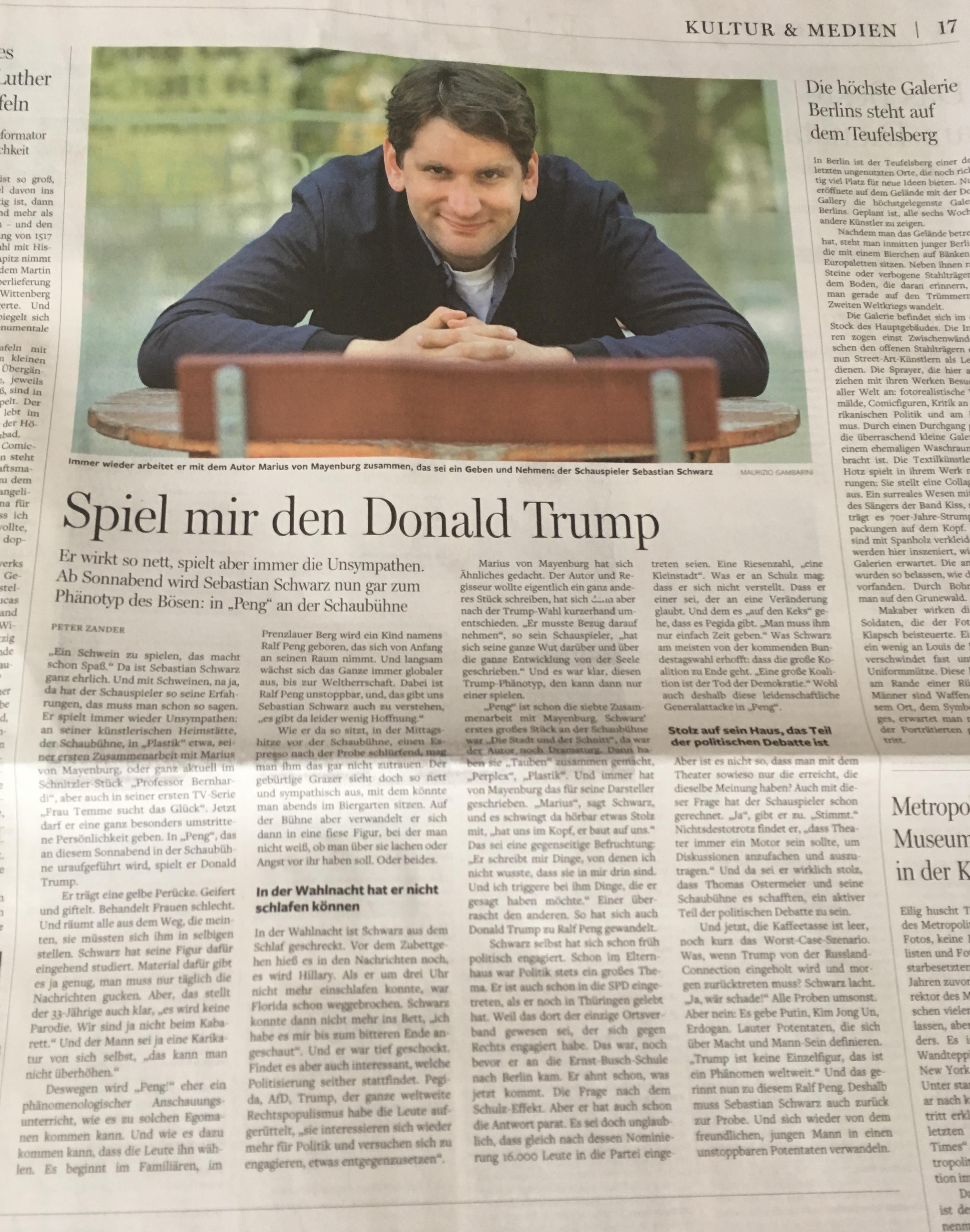 Sebastian Schwarz @ Berliner Morgenp