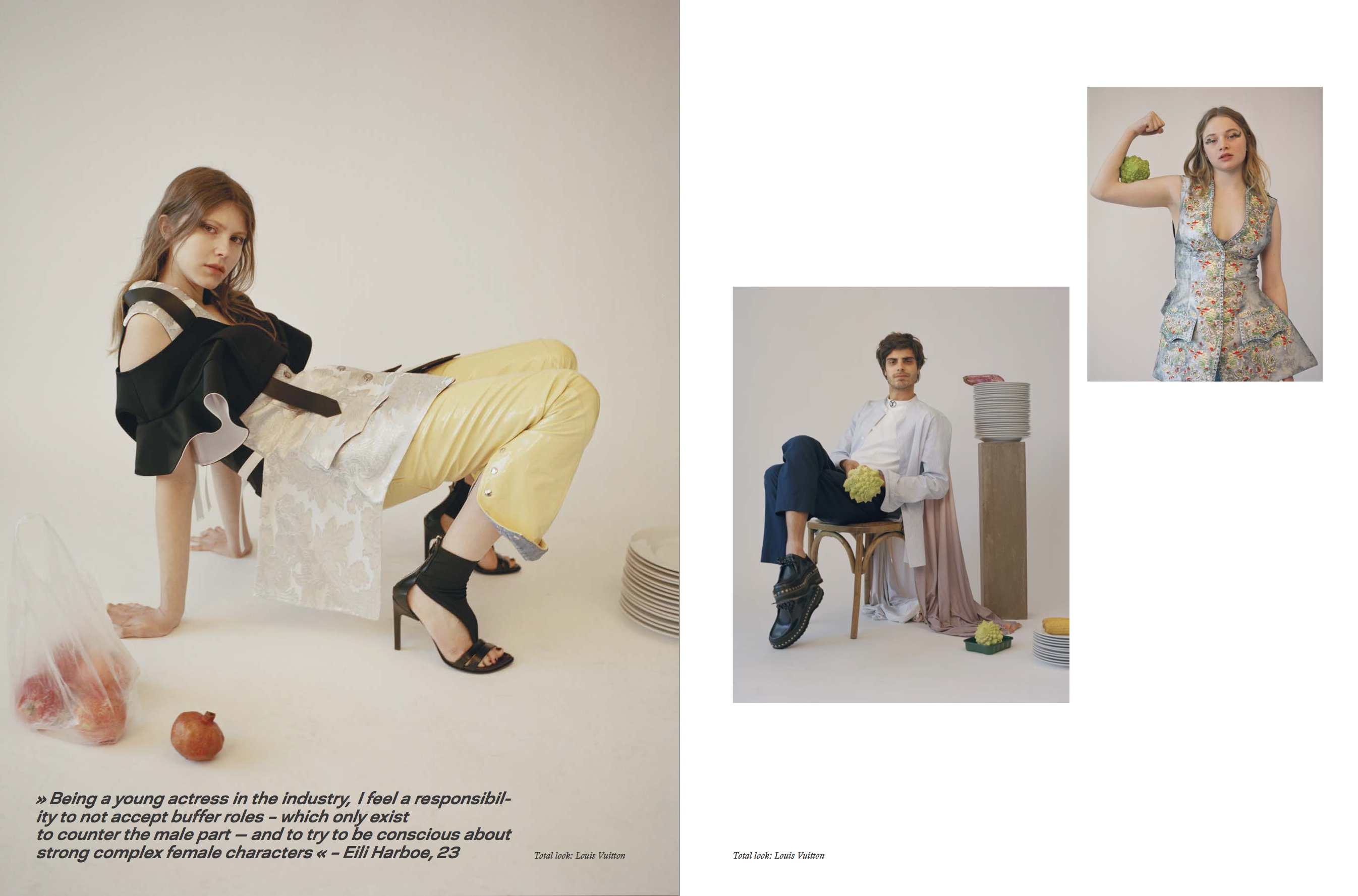 Luna Wedler @ SLEEK Magazine