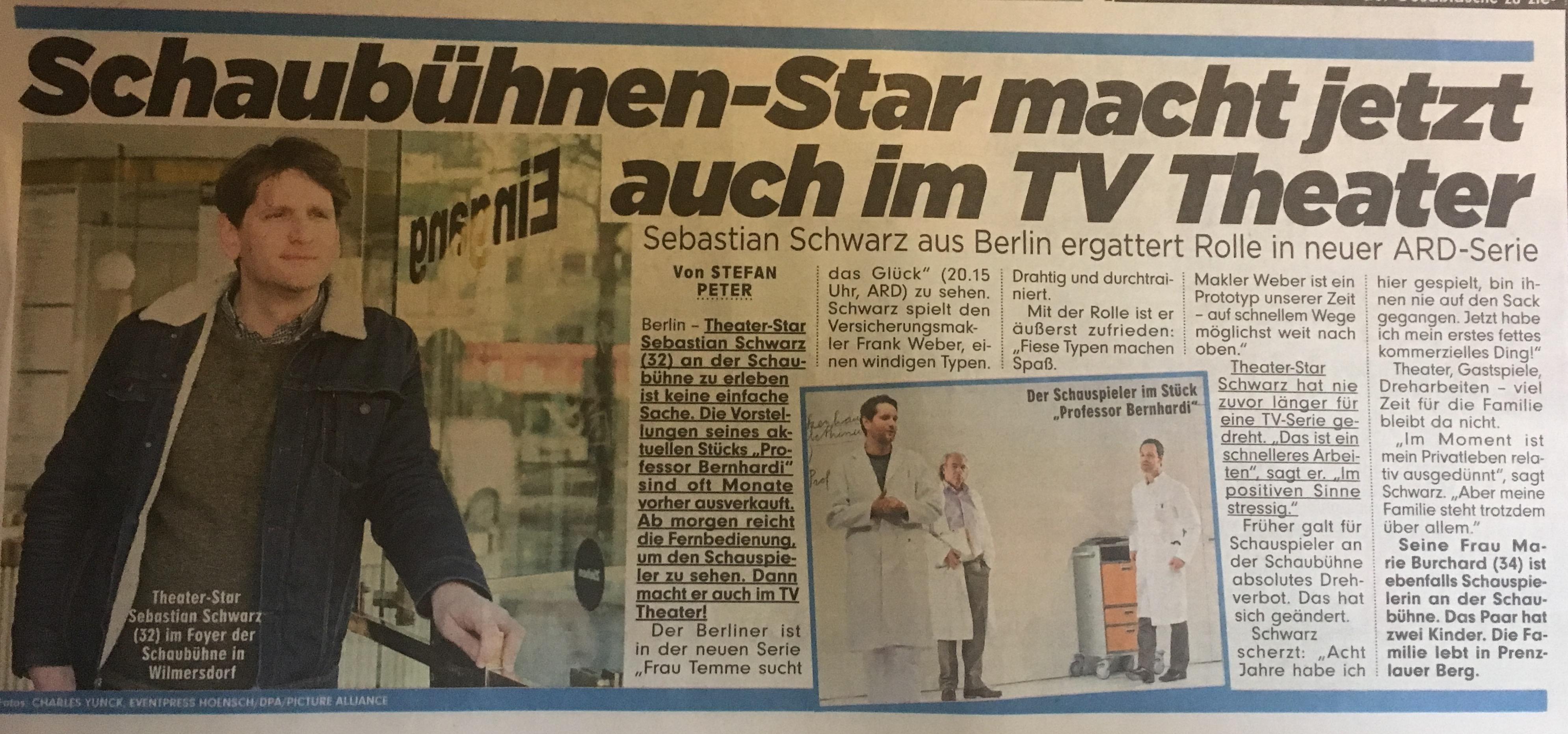 Sebastian Schwarz @ Bild