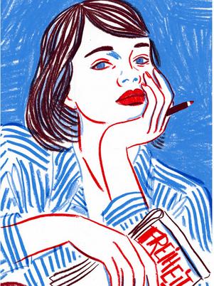 "Luna Wedler plays Sophie Scholl in the Instagram series ""I am Sophie Scholl"""