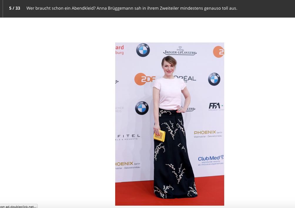 Anna Brüggemann @ Bunte