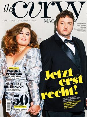 """Daniel Zillmann auf dem Cover vom """"The Curvy Magazine"""""""