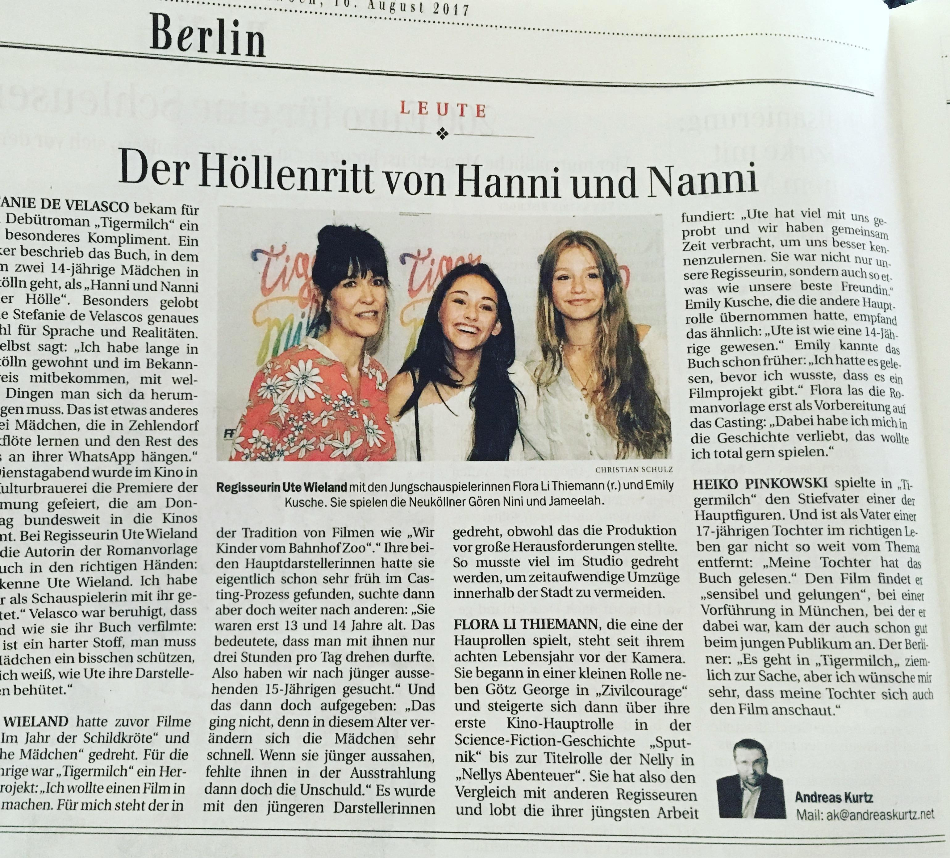 Heiko Pinkowski @ Berliner Zeitung