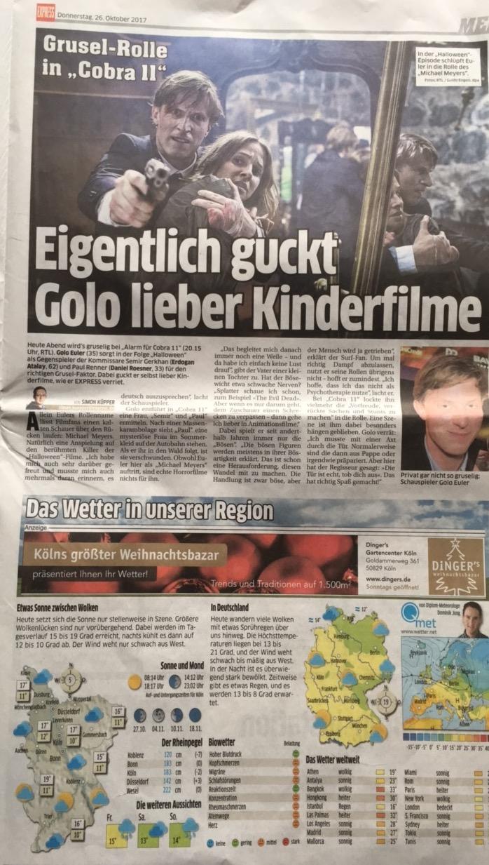 Golo Euler @ Kölner Express