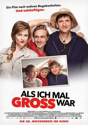 """Das Kinoplakat zu """"Als ich mal groß war"""" mit Sebastian Schwarz ist da!"""