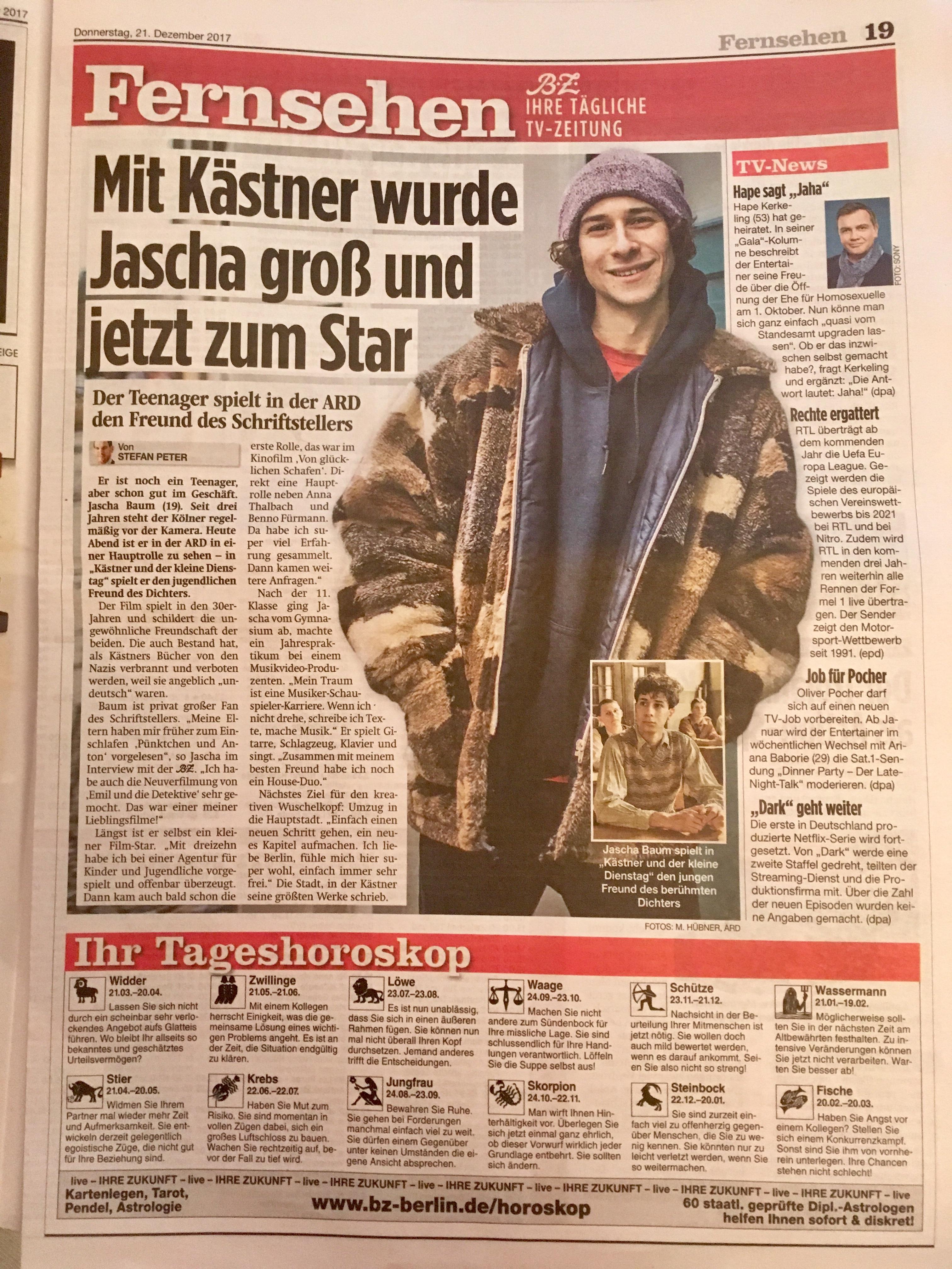 Jascha Baum @ B.Z.