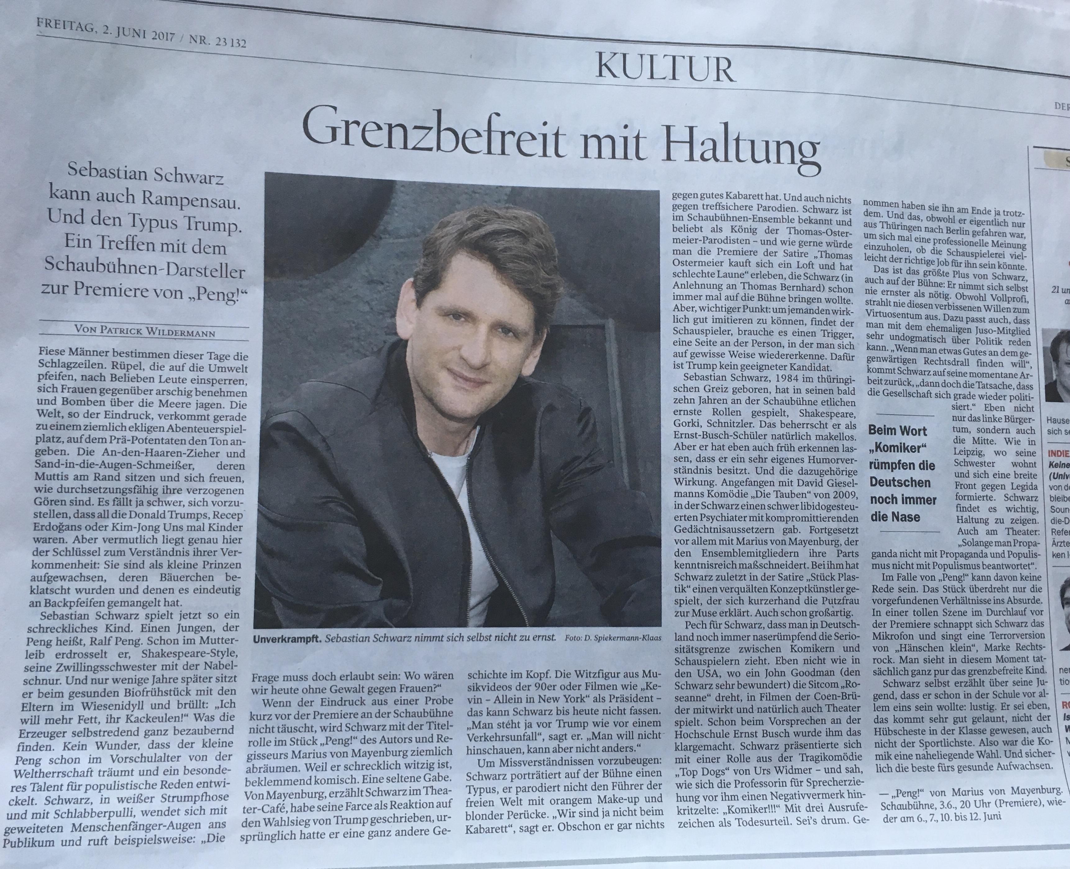 Sebastian Schwarz @ Tagesspiegel